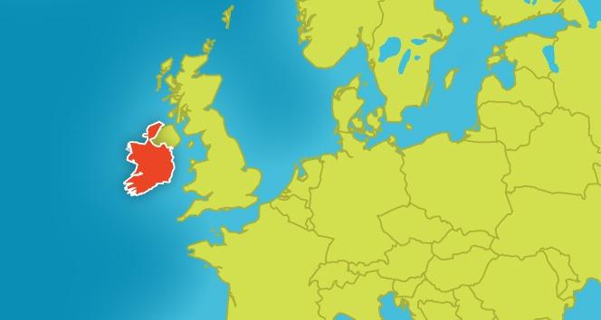 Quiz About The Republic Of Ireland Language Institute Regina Coeli - Ireland on map